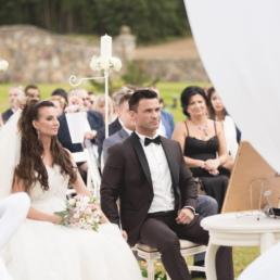dekoracje ślubne na ślub w plenerze - fotografia slubna